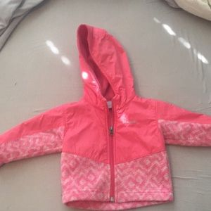 Columbia baby jacket gently worn size 6-12 months
